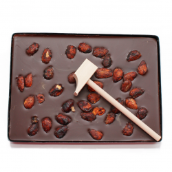 Chocolat noir・Amandes...